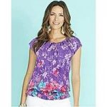 Cotton Printed Gypsy Blouse