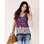 Sleeveless Vest With Fringe