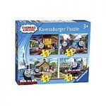 Thomas and Friends 4 in a Box Jigsaw
