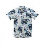 Jacamo S/S Liberty Print Shirt Long